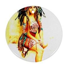 Indian 16 Ornament (round)  by indianwarrior