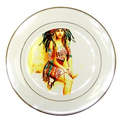 Indian 16 Porcelain Plates by indianwarrior