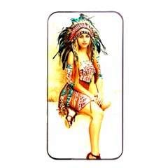 Indian 16 Apple Iphone 4/4s Seamless Case (black) by indianwarrior