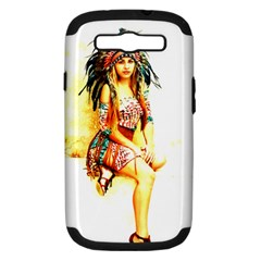 Indian 16 Samsung Galaxy S Iii Hardshell Case (pc+silicone) by indianwarrior