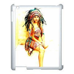 Indian 16 Apple Ipad 3/4 Case (white) by indianwarrior