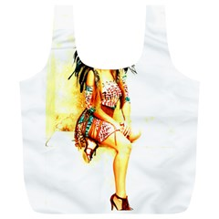 Indian 16 Full Print Recycle Bags (l)  by indianwarrior