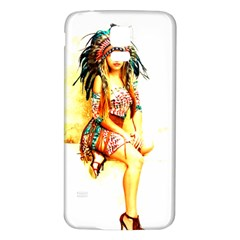 Indian 16 Samsung Galaxy S5 Back Case (white) by indianwarrior