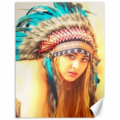 Indian 14 Canvas 12  X 16   by indianwarrior