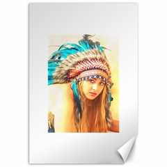 Indian 14 Canvas 20  X 30   by indianwarrior