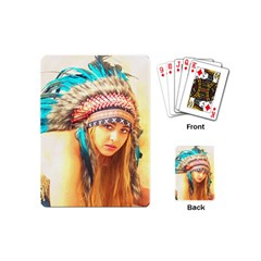 Indian 14 Playing Cards (mini)  by indianwarrior