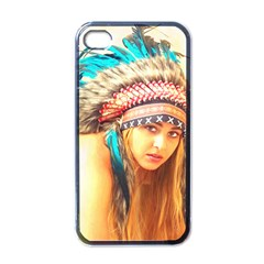 Indian 14 Apple Iphone 4 Case (black) by indianwarrior