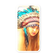 Indian 14 Apple Iphone 4 Case (white) by indianwarrior