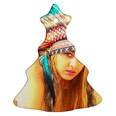 Indian 14 Ornament (christmas Tree) by indianwarrior
