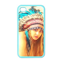 Indian 14 Apple Iphone 4 Case (color) by indianwarrior