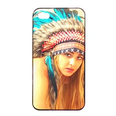 Indian 14 Apple Iphone 4/4s Seamless Case (black) by indianwarrior