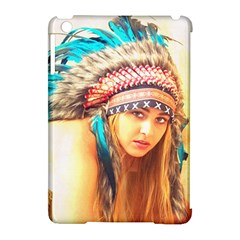 Indian 14 Apple Ipad Mini Hardshell Case (compatible With Smart Cover) by indianwarrior