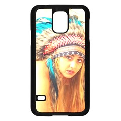 Indian 14 Samsung Galaxy S5 Case (black) by indianwarrior