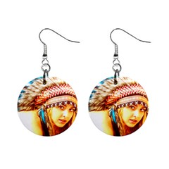 Indian 12 Mini Button Earrings by indianwarrior