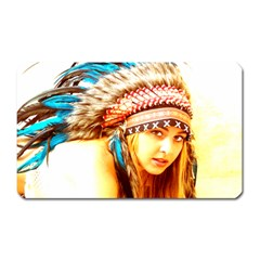 Indian 12 Magnet (rectangular) by indianwarrior