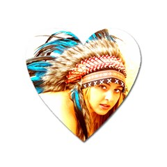Indian 12 Heart Magnet by indianwarrior