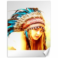 Indian 12 Canvas 12  X 16   by indianwarrior