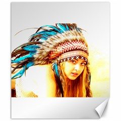 Indian 12 Canvas 20  X 24   by indianwarrior