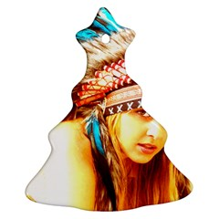 Indian 12 Ornament (christmas Tree) by indianwarrior