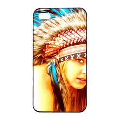 Indian 12 Apple Iphone 4/4s Seamless Case (black) by indianwarrior
