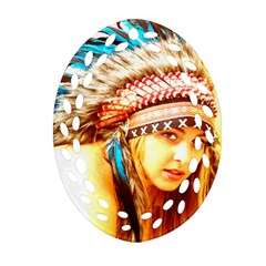 Indian 12 Ornament (oval Filigree)  by indianwarrior