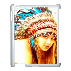 Indian 12 Apple Ipad 3/4 Case (white) by indianwarrior