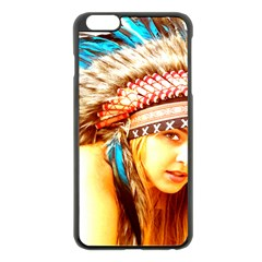 Indian 12 Apple Iphone 6 Plus/6s Plus Black Enamel Case by indianwarrior