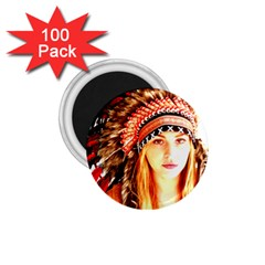 Indian 3 1 75  Magnets (100 Pack)  by indianwarrior