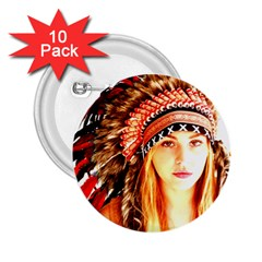Indian 3 2 25  Buttons (10 Pack)  by indianwarrior