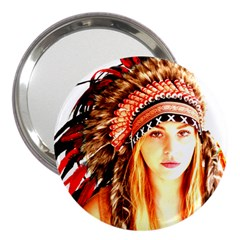 Indian 3 3  Handbag Mirrors by indianwarrior