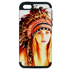 Indian 3 Apple Iphone 5 Hardshell Case (pc+silicone) by indianwarrior