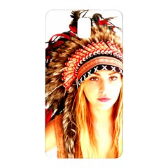Indian 3 Samsung Galaxy Note 3 N9005 Hardshell Back Case by indianwarrior