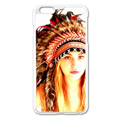 Indian 3 Apple Iphone 6 Plus/6s Plus Enamel White Case by indianwarrior