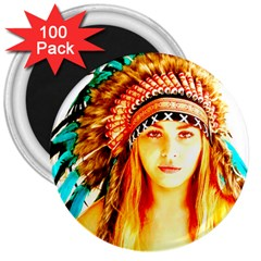 Indian 29 3  Magnets (100 Pack) by indianwarrior
