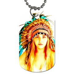 Indian 29 Dog Tag (two Sides) by indianwarrior