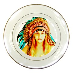 Indian 29 Porcelain Plates by indianwarrior