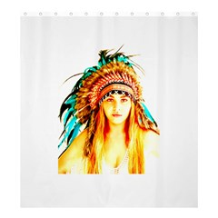 Indian 29 Shower Curtain 66  X 72  (large)  by indianwarrior