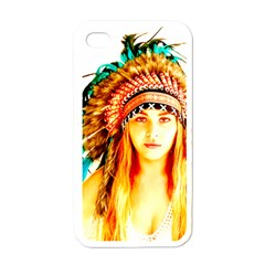 Indian 29 Apple Iphone 4 Case (white) by indianwarrior