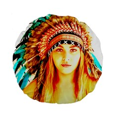 Indian 29 Standard 15  Premium Round Cushions by indianwarrior