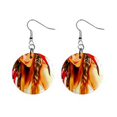 Indian 26 Mini Button Earrings by indianwarrior