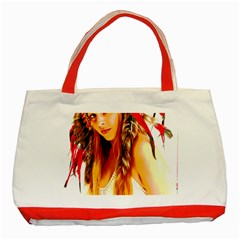 Indian 26 Classic Tote Bag (red) by indianwarrior