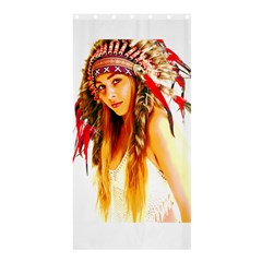 Indian 26 Shower Curtain 36  X 72  (stall)  by indianwarrior