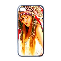 Indian 26 Apple Iphone 4 Case (black) by indianwarrior