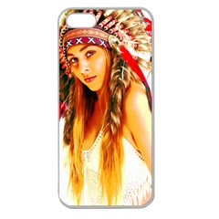 Indian 26 Apple Seamless Iphone 5 Case (clear) by indianwarrior