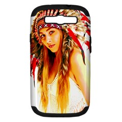 Indian 26 Samsung Galaxy S Iii Hardshell Case (pc+silicone) by indianwarrior
