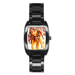 Indian 26 Stainless Steel Barrel Watch by indianwarrior