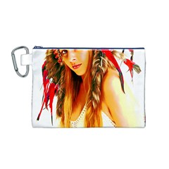 Indian 26 Canvas Cosmetic Bag (m) by indianwarrior