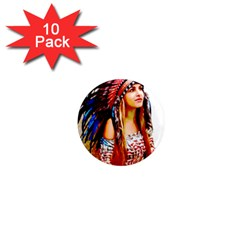 Indian 22 1  Mini Magnet (10 Pack)  by indianwarrior