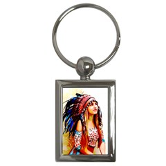 Indian 22 Key Chains (rectangle)  by indianwarrior
