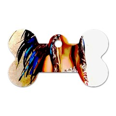 Indian 22 Dog Tag Bone (two Sides) by indianwarrior